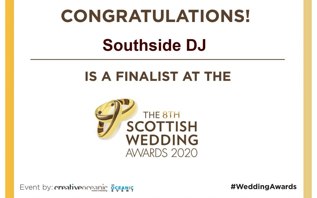 Scottish Wedding Awards 2020 – Finalist!