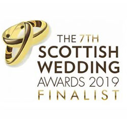 Scottish Wedding Awards Finalist 2019
